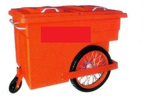 Xe thu gom rác 3 bánh 660L