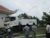 Xe tưới cây rửa đường